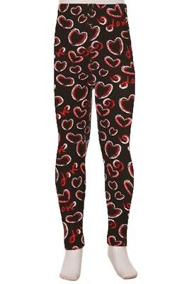 Music Notes Girl/'s Toddler Leggings S//M Size 3-5 soft as LLR