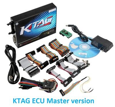 KTAG ECU Master version Car Re-Mapping business Toolkit latest version V7.020