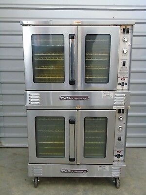 Southbend SLGS 22SC natural gas double stack convection oven Very nice condition
