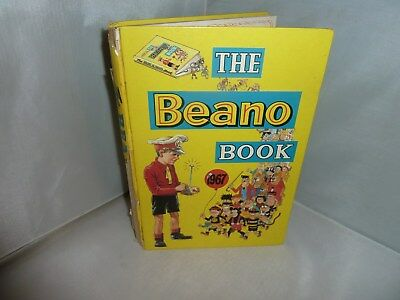 """1967 Annual """"The Beano Book"""" Unclipped But With Some Writing"""
