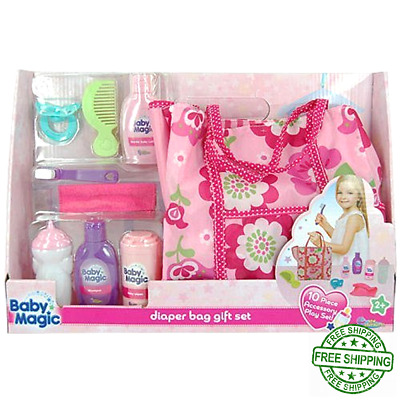 Baby Doll Diaper Bag Accessory Toy Playset Accessories Toys Lot For Girls Kids