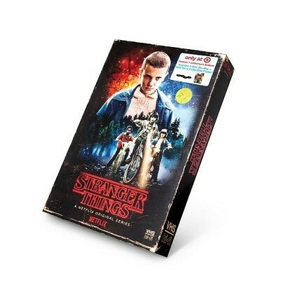 STRANGER THINGS Season 1 Collector's Edition - 4 Disc Blu-Ray and DVD + Poster!