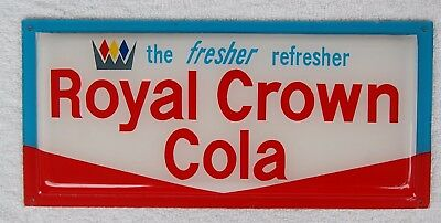 """Vintage 1960's Royal Crown advertising the fresher refresher 5 1/2""""x 12"""""""