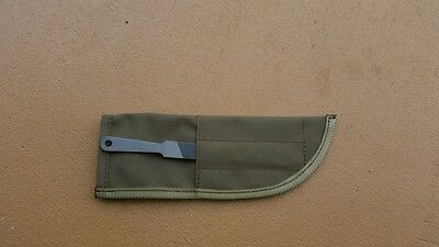 Canvas Paratrooper Sheath With File