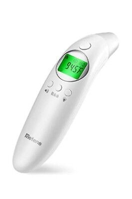 Metene Medical Forehead and Ear Thermometer for Fever, Non-Contact Digital Therm