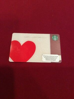 Starbucks Gift Card Valentine S Hearts Free Shipping 2 25