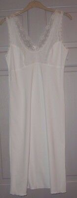 New Pure White Lovely Silky Underskirt/petticoat Size 12