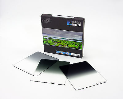 Hitech 100 Neutral Density Grad Set (Soft Edge) 100x125mm,also fits Lee/Cokin Z