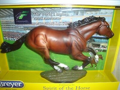 Breyer FRANKEL, World's High Rated Race Horse, Traditional 1:9 Scale NEW in Box