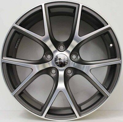 20 inch GENUINE JEEP GRAND CHEROKEE SRT8 2017 MODEL FORGED ALLOY WHEELS