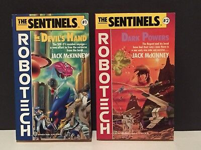Robotech The Sentinels Paperback Books #1 & 2 Jack McKinney