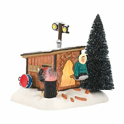 Department 56 National Lampoons Christmas Vacation Griswold Sled Shack Lit