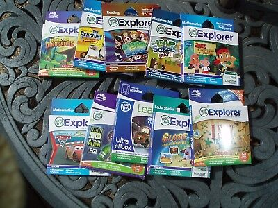 LeapPad & Leapster Explorer Games **YOU CHOOSE**  New in Box