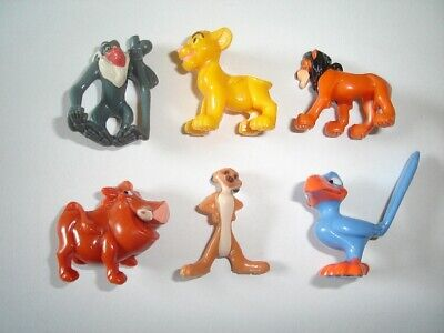Disney The Lion King Figurines Set 3 Nestle - Figures Collectibles Miniatures