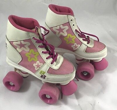 Barbie Kids Roller Skates - Size 11J - Used