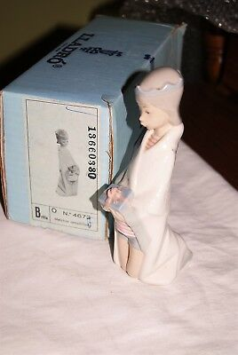 Lladro Childrens Nativty - King Melchior in box
