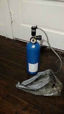 5 Minutes Escape Air Tank Respirator EMERGENCY LIFE SUPPORT APPARATUS