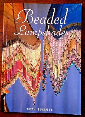 Aust. BEADED LAMPSHADES by BETH BULLUSS, VGC  - How-to, bead craft book