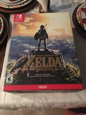 The Legend of Zelda: Breath of the Wild Special Edition Game For Nintendo Switch