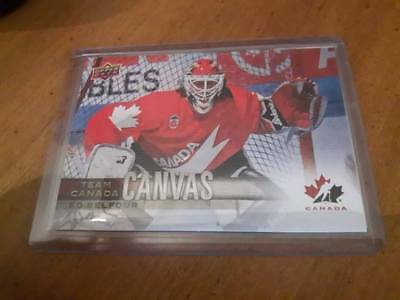 2017-18 Ud Canadian Tire Team Canada Canvas Ed Belfour  # Tcc-35