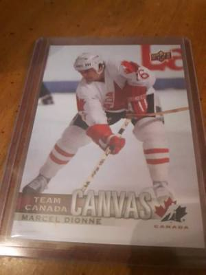 2017-18 Ud Canadian Tire Team Canada Canvas Marcel Dionne # Tcc-45