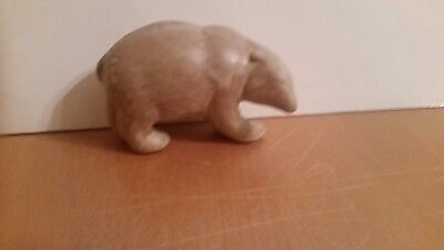 "Frankoma Bear Figurine 3.5"" Light Brown Matte Glaze"