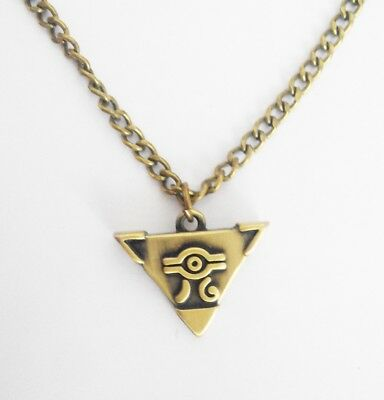 Anime  Millenium Puzzle Item  Muto Cosplay Gold Pendant Necklace Oh