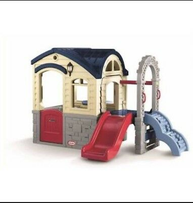 Little Tikes Cubby House With Slide
