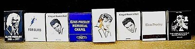 Elvis Presley Matchbooks (8)