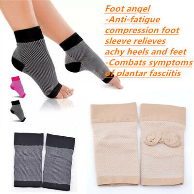 Foot Angel Compression Socks Achy Heel Pain Tired Foot Sleeve Plantar Arthritis