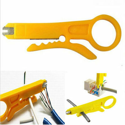 Punch Down Tool and Cable Stripper Network RJ45 CAT5 CAT5E CAT 6 Best