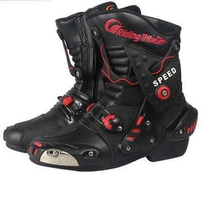Professional Motorcycle Offroad Racing MX GP sports Leather Medium Boots Shoes