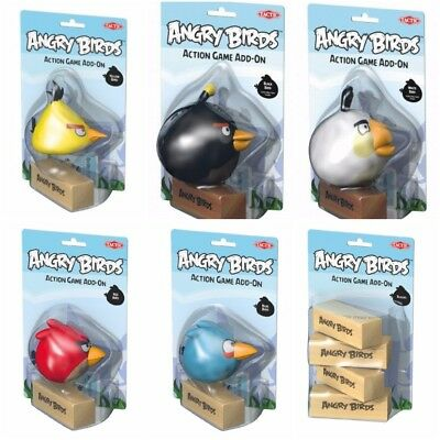 Tactic Angry Birds Action Game Add On Wooden Blocks
