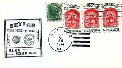 UNITED STATES - 1974 Skylab Third Flight U.S. Navy Recovery Force Cover