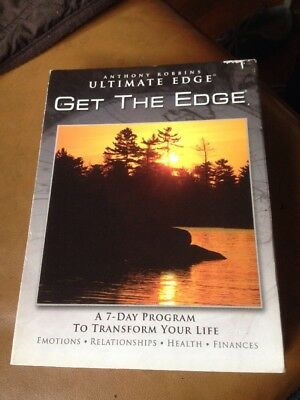 8 Cd Anthony Robbins Get the Edge 7 Days to Transform Your Life Ultimate Edge
