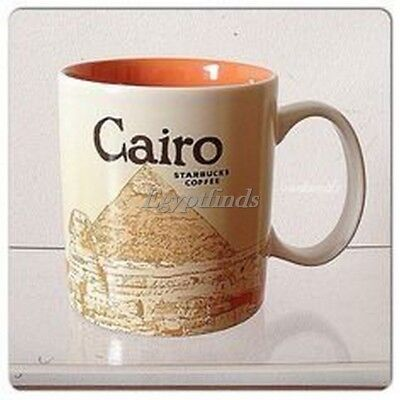 Authentic New Starbucks City mug Icon Series CAIRO EXPRESS SHIPPING WORLD WIDE