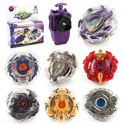 Bey Blade Metal Fusion 4d Set Launcher Fight Beyblade Master Rapidity Rare Grip