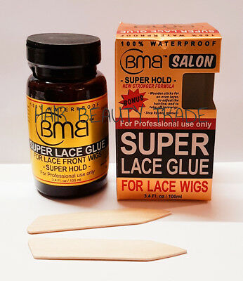 Bmb Super Hold Lace Front Wigs Glue 15Ml With Extra Aplicator Brushes
