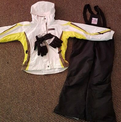 Dare 2b, Skiing suit with salopete, 9-10 years,  gloves are free