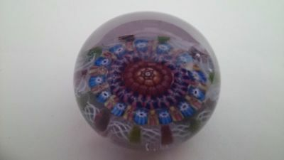 Paul Ysart 1930s Monart Period Art Glass Paperweight