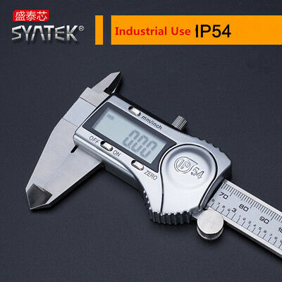 Steel Stainless Caliper Digital 150mm Electronic Vernier 6 Micrometer Lcd Gauge
