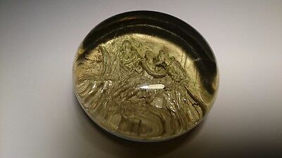 Pinchbeck Very Rare Antique French Classic Period c1850 Art Glass Paperweight