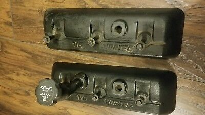 Chevy Valve Cover 827150 fits 4.3 V6 Vortec GM engines. Used