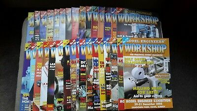 Model Engineers Workshop Magazine - 32 Issues From 1997 To 2005