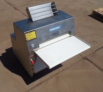 Somerset CDR 2000 CDR-2000 CDR2000 Double Pass Dough Roller - Stainless Steel