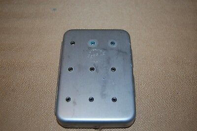 Vintage Perrine #60 Aluminum Pocket Size Fly Box with Flies