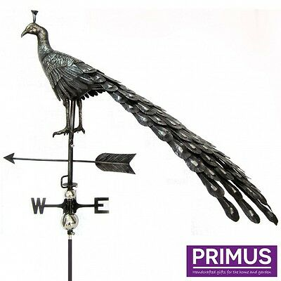 Stainless Steel 3D Weather vane : Peacock/Deer/Horse/Bird/Duck/Pig/Rooster