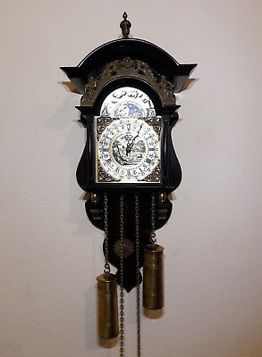 Thomas Tompion Wall Clock With Moonphase 241080 FHS Germany  REPRODUCTION