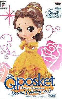 Banpresto Q Posket Disney Beauty and the Beast Belle Special Coloring Ver Figure