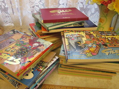 51 Giles Books Whole Heap *for collection Only* Hardback Grandma Book *51 Books*